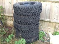Land Rover Mud Tyres x5