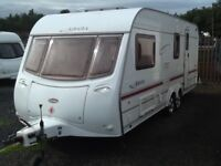 2002 coachman AMARA 580/4 berth end changing room twin axel with fitted mover