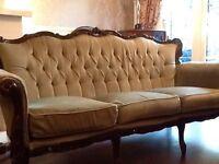 Vintage Rococo / Baroque Parlour Sofa May Deliver