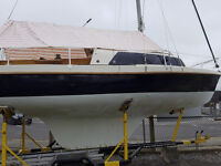 Cruising Yacht, Van De Stadt Spurn Class 22ft 4 birth (1962)