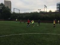 Friendly 7/8-a-side football tonight at Mile End. 3 players needed for a casual game. All welcome!