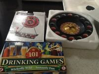 3 drinking games to clear reduced to £4.50 the lot