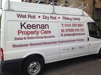 KEENAN PROPERTY CARE - DAMP AND TIMBER DECAY SPECIALISTS