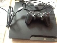 Ps3 slim (320gb) with games and accessories