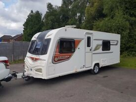2014 Bailey Unicorn Valencia 4 Berth caravan FIXED BED, MOTOR MOVER, Bargain !