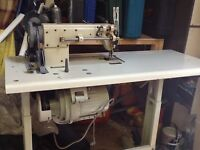 INDUSTRIAL SEWING MACHINE Walking foot. Upholstery etc.