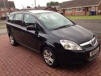 MOT Till 08/17.manual 1.7 Vauxhall Zafira black air con.all worked done in past have reciept ,bills