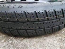 Brand new Spare wheel and Tyre never been used