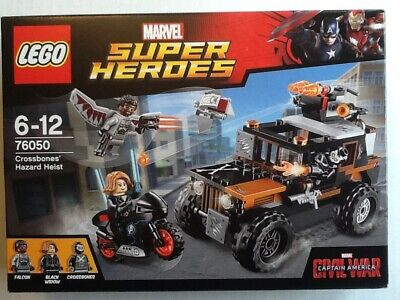 LEGO Marvel 76050 Crossbones' Hazard Heist Set