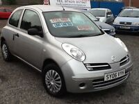 NISSAN MICRA 1.2L ////SMALL AUTOMATIC CAR///ONE YEAR MOT