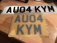 Private number plate KIM