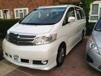 TOYOTA ALPHARD 8 SEATER DAY VAN - CAMPER VAN - DOUBLE BED - LIGHTING - DVD - CAMERA'S - SWAP CAMPER?