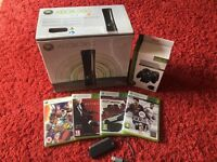 Xbox 360 Elite Package (Boxed like new & complete)...