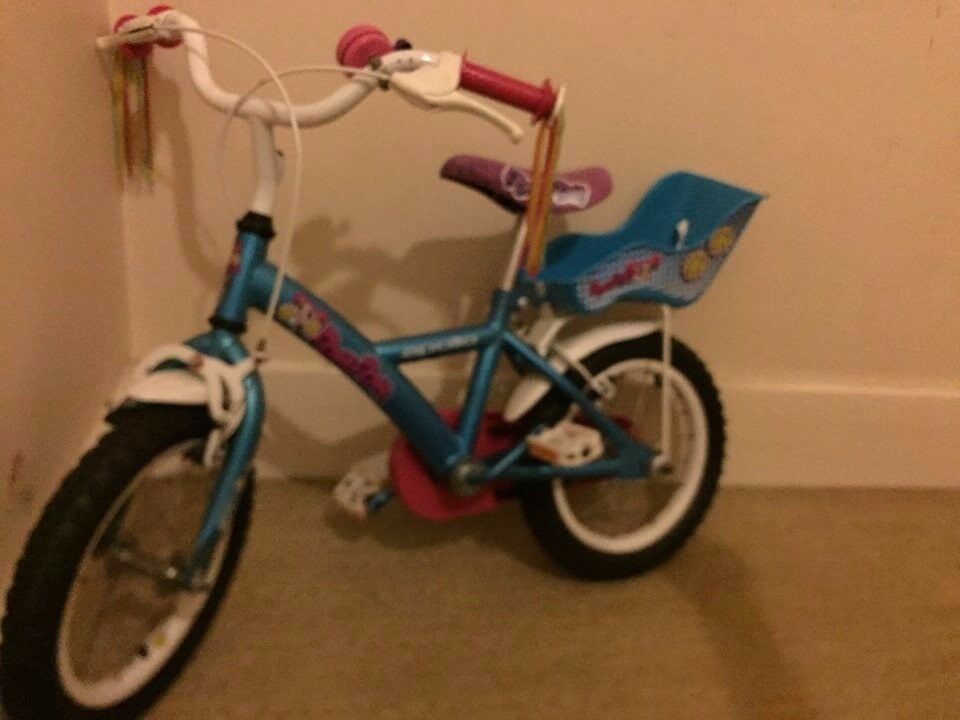 "Pompon children bike 14"" from Haldford"