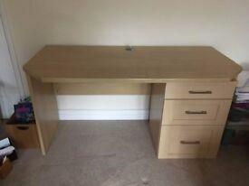 Large Solid Office Desk