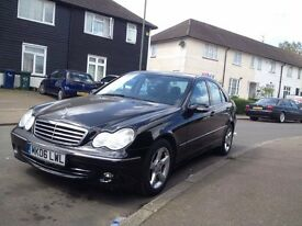 MERCEDES-BENZ C CLASS C280 3.0 V6 7GTRONIC AVANGARDE 2006 BLACK DIAMOND METALLIC