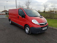 NO VAT 2008 08 VAUXHALL VIVARO 2.0 CDTI LWB 2900, ONE FORMER KEEPER, PX WELCOME
