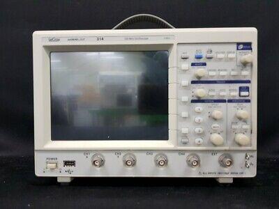 Lecroywavejet 314 Oscilloscope 100mhz 1gss 4 Channel5991