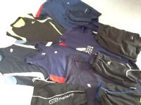 Mens running/fitness shorts and tops 11 items suitable for size small/medium. Clean.