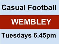 Football in North Wembley this week!