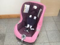 Britax First Class Plus group 0+1car seat for newborn upto 18kg(to 4yrs)-great model-washed&cleaned