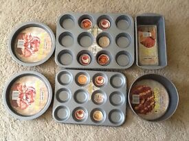 New Baking Tray / Muffin Tin / Loaf Tin set 6 pieces