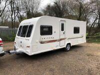 2013 Bailey Unicorn Cadiz 4 Berth Caravan FIXED SINGLE BEDS MOTOR MOVER AWNING!