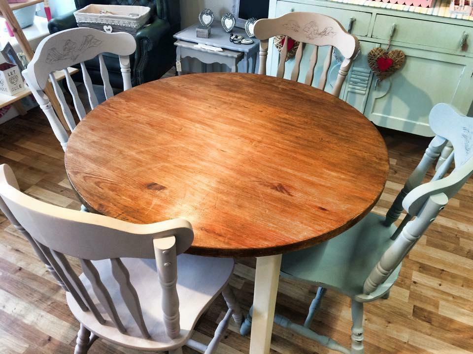 Pine Kitchen Table And Chairs In Ma