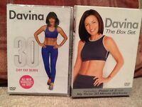 Davina DVDs x 3