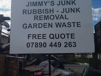 RUBBISH GARDEN CLEARANCES GREEN WASTE JUNK DIY AND WASTE REMOVAL ALL AREAS