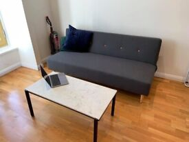 Three person sofa bed for sale