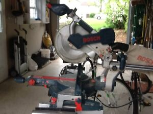 Bosch 10 inch compond mitre saw