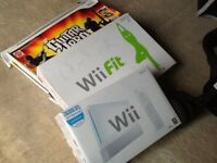 Wii with wifi fit board