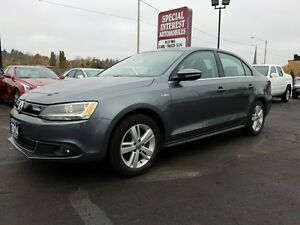 2014 Volkswagen Jetta Turbocharged Hybrid Highline CLEAN CAR-...