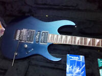 Ibanez RG570 In Neon Blue/Purple With Original Hardcase and Floyd Rose Tremolo