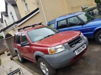 freelander 1.8 spares or repair