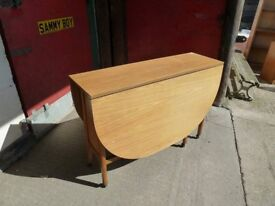Large Space Saving Drop Leaf Dining Table Delivery Available