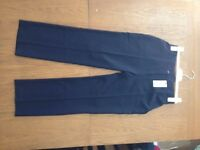 Navy work trousers
