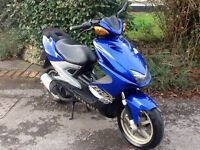 2000 Yamaha Aerox 100, Blue, new mot, only 14,442 miles, can deliver.