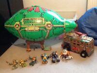 Ninja turtle toy bundle