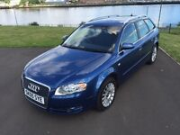 Audi A4 2.0 T.D.I S.E Estate 2005 full mot and 6 months extendable warranty, low miles for year.