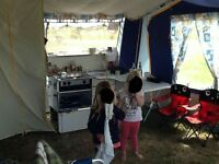 Conway spirit 2002 trailer tent. Fantastic condition. Extras included. No rips/tears.