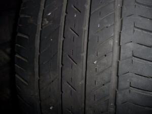 4 pneus d'été Bridgestone Turanza CL 400, 205/55/16, 60% d'usure, mesure 4/5/32.