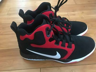 Nike Air Conversion Basketball Shoes Black/ Red Sz 10.5 861678 005