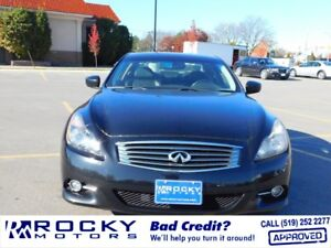 2011 Infiniti G37X - BAD CREDIT APPROVALS