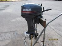 Yamaha 15 hp outboard motor boat engine for rib inflatable fishing boat dinghy two stroke