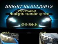 HEADLIGHTS RESTORATION FROM ONLY £29.99