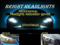 HEADLIGHT RESTORATION FROM ONLY £29.99