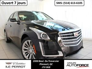 2018 Cadillac BERLINE CTS TRACTION INTÉGRALE LUXURY