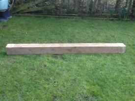 Oak Beam (218cm long X 15cm X 15cm)